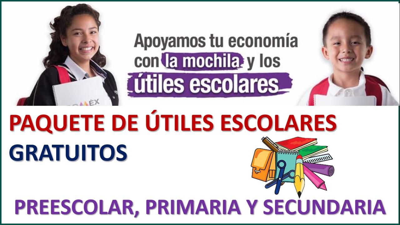 Convocatoria Programa Desarrollo Social Familias Fuertes con Útiles Escolares2021-2022