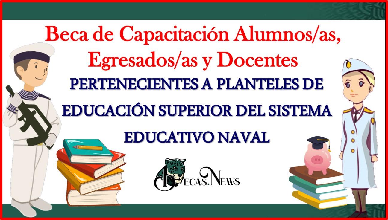 Beca de Capacitación Alumnos/as, Egresados/as y Docentes pertenecientes a Planteles de Educación Superior del Sistema Educativo Naval 2021-2022 Convocatoria, Registro y Requisitos
