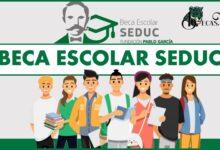 Beca Escolar Seduc 2021-2022