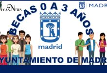 Becas 0 a 3 años ayuntamiento de Madrid: Convocatoria, Registro y Requisitos