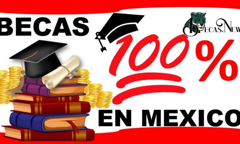 Becas 100 en México: Convocatoria, Registro y Requisitos
