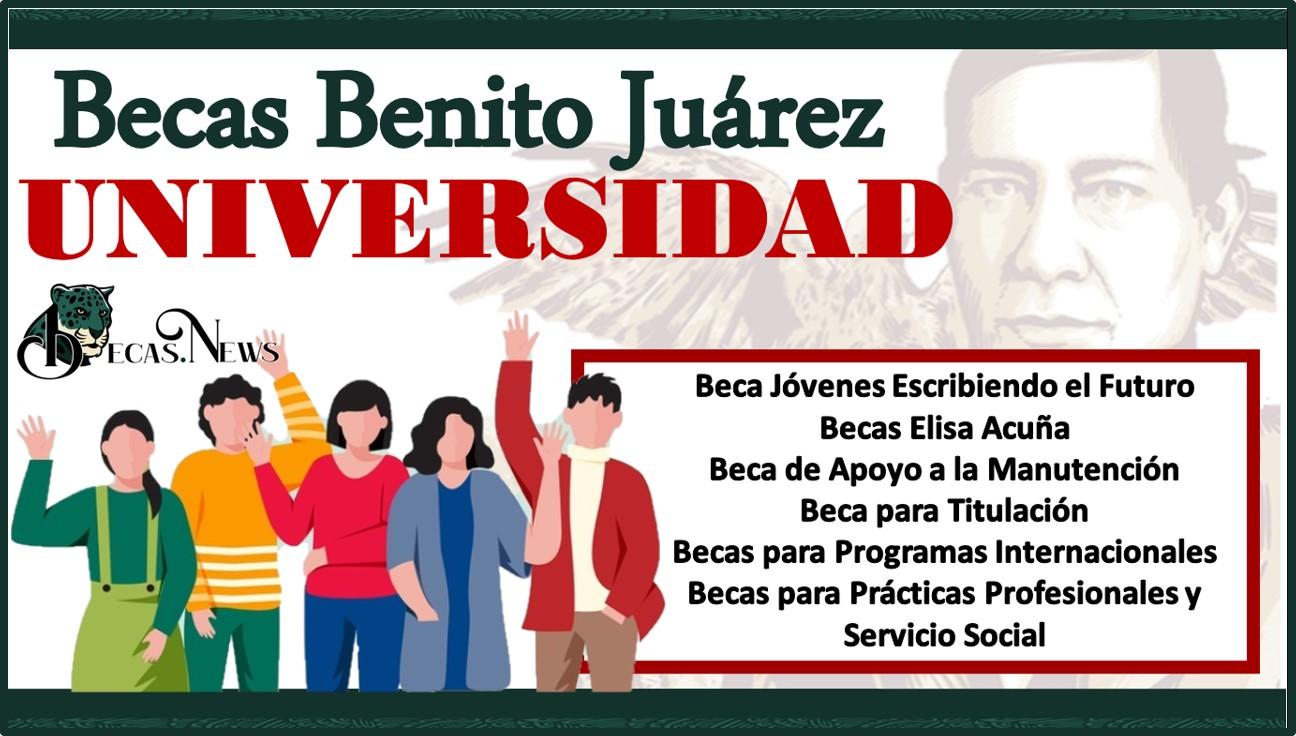 Becas Benito Juárez Universidad 2021-2022: Convocatoria, Registro y Requisitos