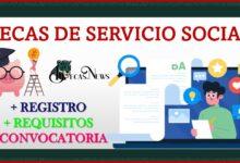 Becas de Servicio Social 2021-2022 Convocatoria, Registro y Requisitos