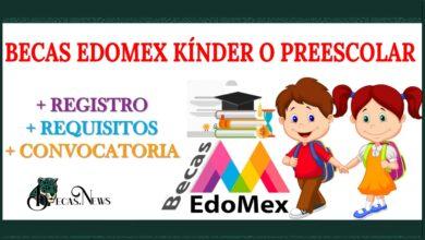 Becas edomex kínder o preescolar 2021-2022: Convocatoria, Registro y Requisitos