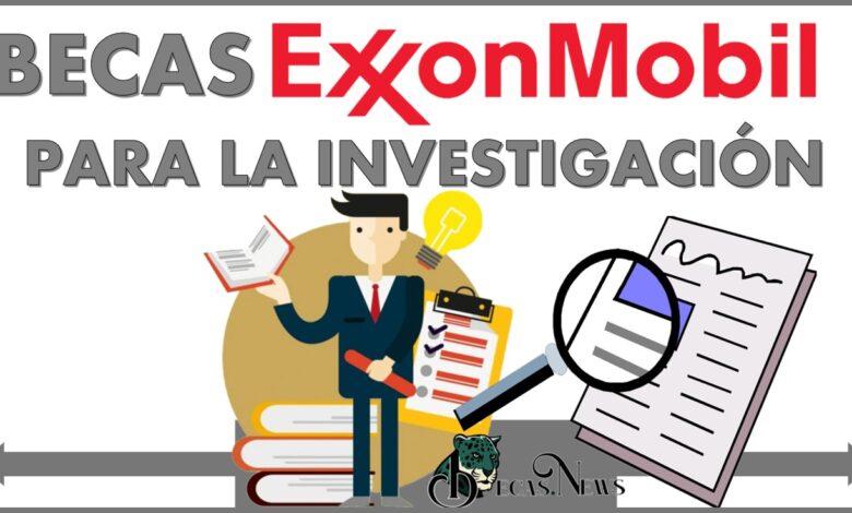 Becas ExxonMobil para la Investigación: Convocatoria, Registro y Requisitos