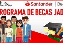 Programa de Becas JADE Santander 2021-2022