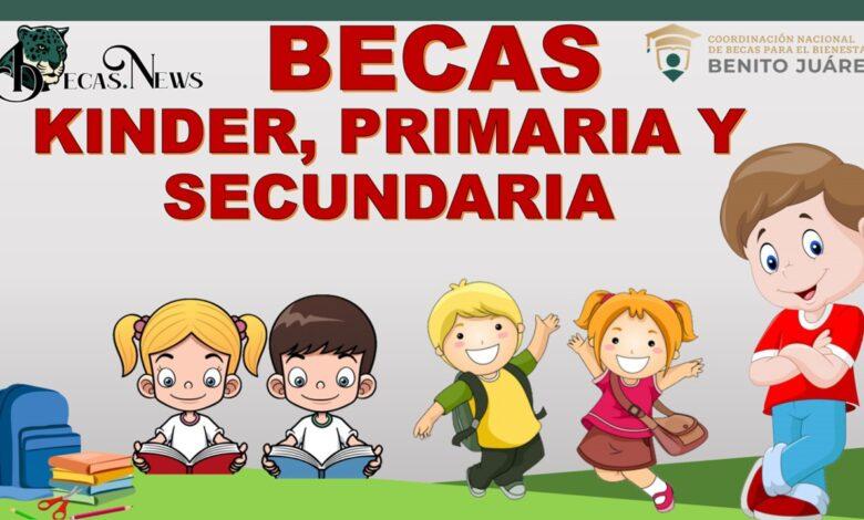 Becas Kínder, primaria y secundaria: Convocatoria, Requisitos y Registro