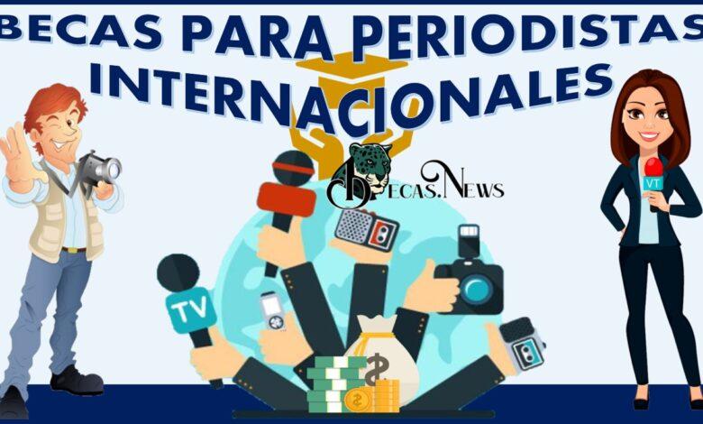 Becas para periodistas internacionales: Convocatoria, Registro y Requisitos