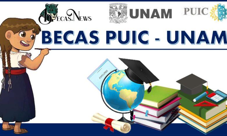 Becas PUIC - UNAM 2021-2022