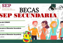 Becas SEP Secundaria 2021-2022: Convocatoria, Registro y Requisitos