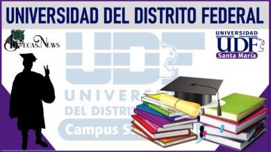 Becas Universidad del Distrito Federal 2021-2022: Convocatoria, Registro y Requisitos