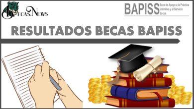 Resultados Becas BAPISS 2021: Convocatoria, Registro y Requisitos