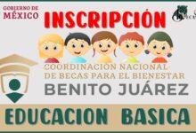 Inscripción a la Beca Benito Juárez para nivel Básico| 2021-2022