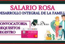 Salario Rosa por el Desarrollo Integral de la Familia 2021-2022: Convocatoria, Registro y Requisitos