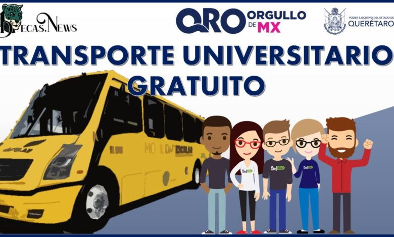 Transporte Universitario gratuito Querétaro 2021-2022